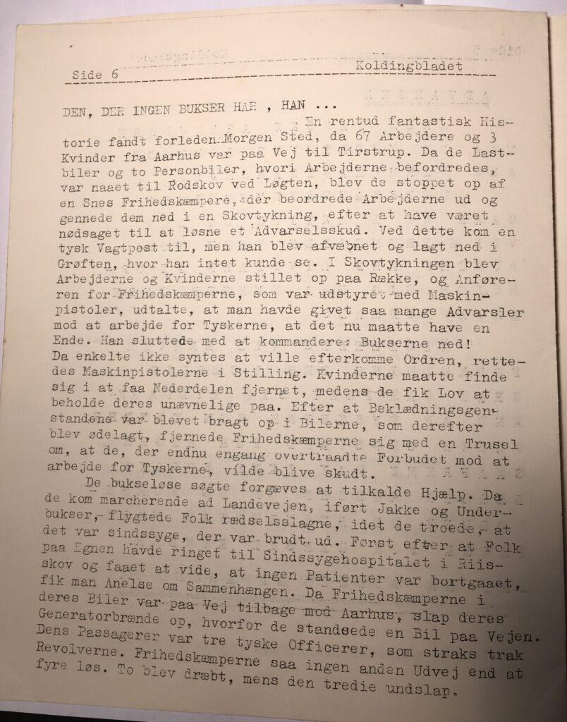 Kolding Bladet - maj 1945 - side 6