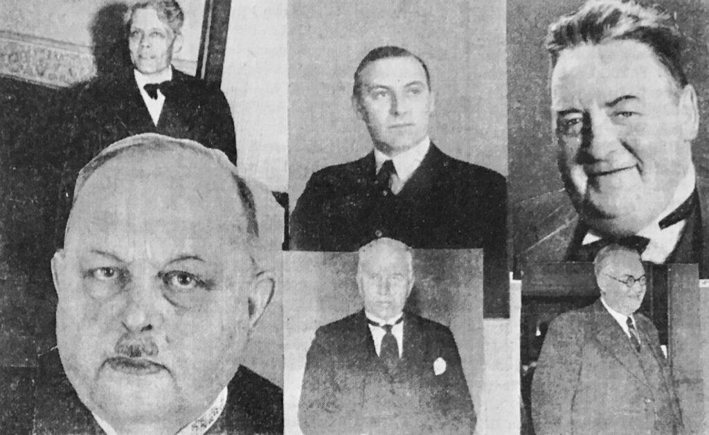 Seks nye minister i samlingsregeringen